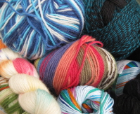 DK (worsted) yarns